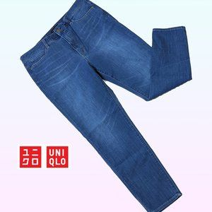 Uniqlo High Rise Jeans skinny tapered ultrastretch